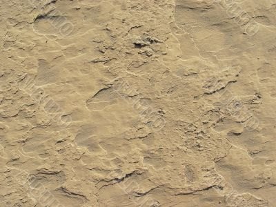 dry brown sand texture