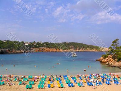 Portinatx beach - Ibiza, Spain