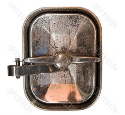 wine tank door isolated
