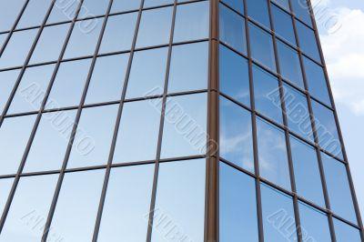 Office building exterior #3. Sky mirror.