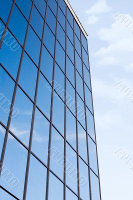 Office building exterior #4. Sky mirror.