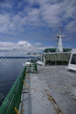 Passenger deck,