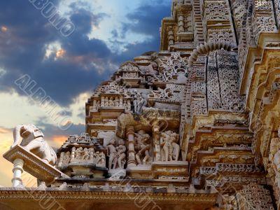 Khajuraho temple. India