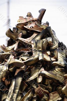 Old footwear