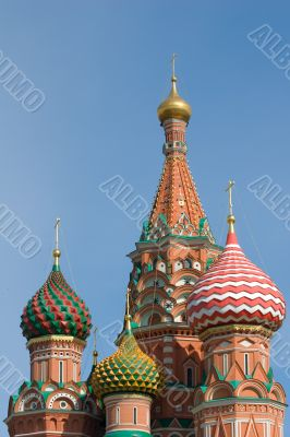Saint Basil`s Cathedral, Red Square, Moscow, Russia