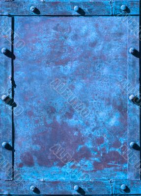 riveted grunge background with space for text