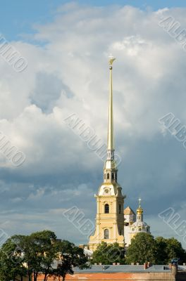 Peter and Paul fortress, the symbol of Saint Petersburg, Russia