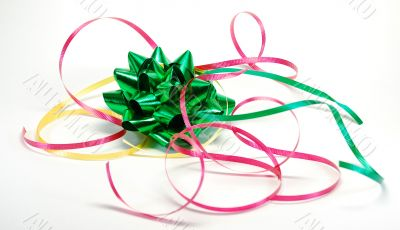Festive ribbons and bows