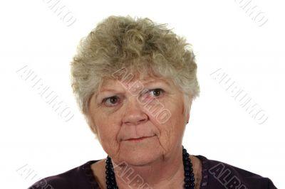 Serious Senior Lady 1