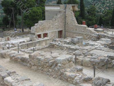 Ruins of Knossos, Crete