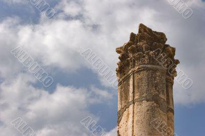 Ancient column.