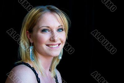 Beautiful, smiling woman