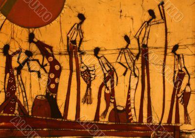 African Art Batik