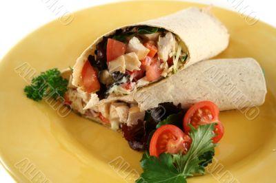 Chicken Salad Wrap 1