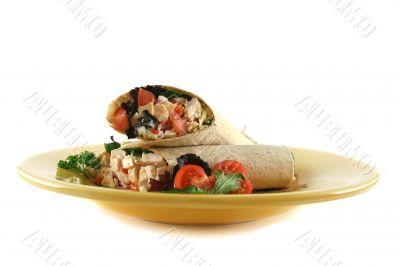 Chicken Salad Wrap 2