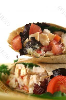 Chicken Salad Wrap 3