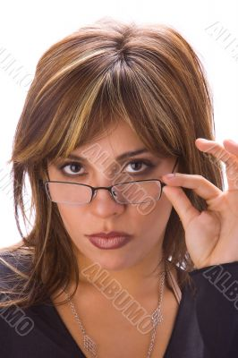 Latin chic with glasses