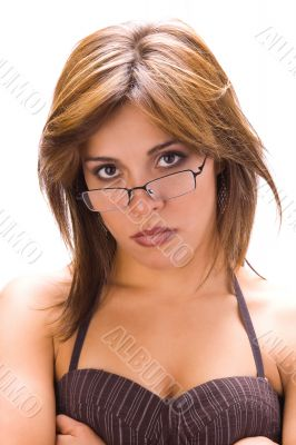 Latin chic with glasses 2