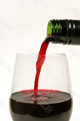 Pouring A Red 3