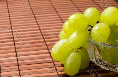 Grape on a vase