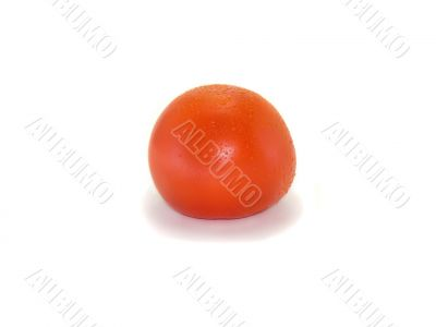 Red tasty isolated tomato