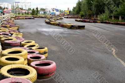 Route for go-carting