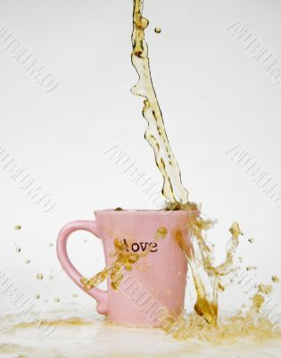 Coffee Splash Love Mug
