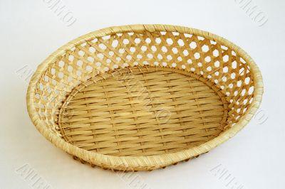 wicker bowl