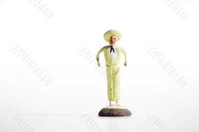 Mexican Clay Toy Figurine