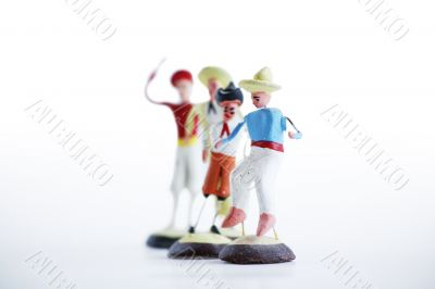Mexican Clay Toy Figurines