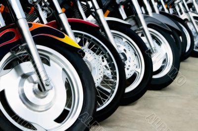 Motorcycle Bits: Wheels