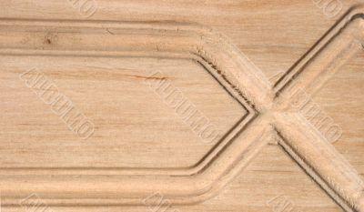 Light beech plank