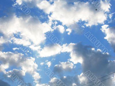 Calm cloudscape