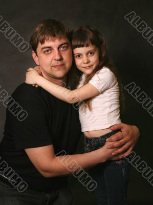 Father and the daughter