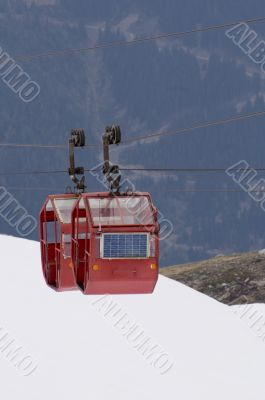 Mont Blanc Ski Lift