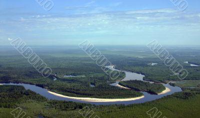 Timber river.