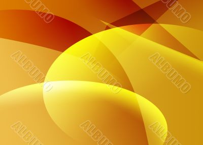 Trendy Red and Yellow Background