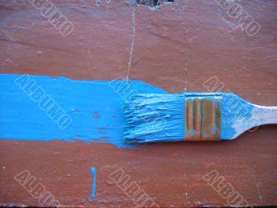 Blue dye