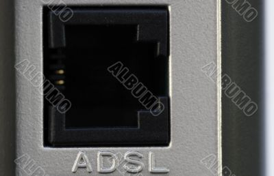ADSL Router and Hub