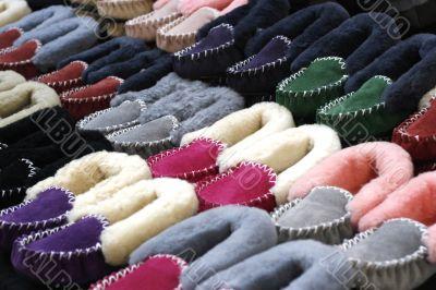 wool slippers