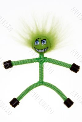 toy green figure