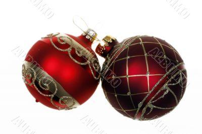 Christmas glass decoration