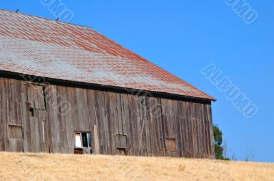 Barn, side view