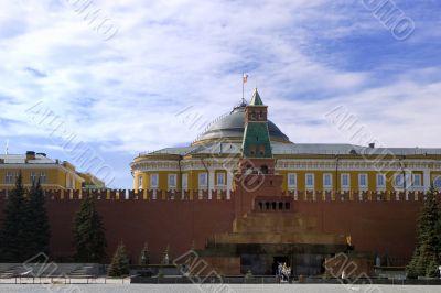 Lenin mausoleum,on Red Square