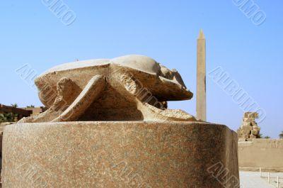 Scarab of Karnak temple