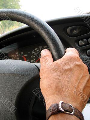 driver steering wheel