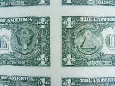 U.S. One Dollar Part