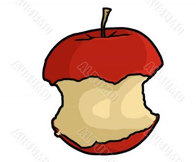 Apple Core Illustration