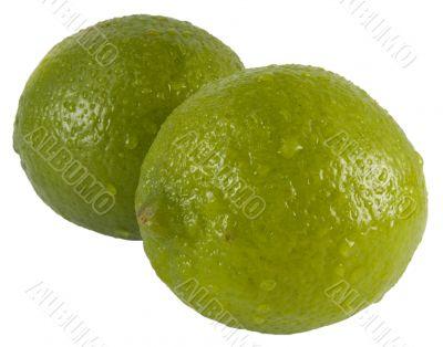 Two fresh limes