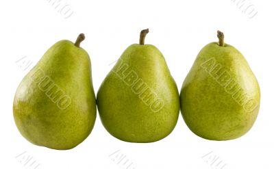 fresh pear trio